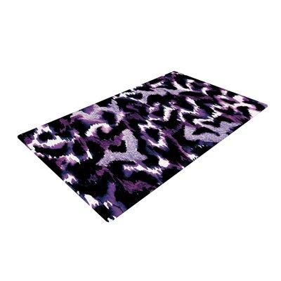 Ebi Emporium Wild at Heart Purple Area Rug Rug Size: 4 x 6