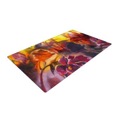Kristin Humphrey Release Pink/Orange Area Rug Rug Size: 2' x 3'