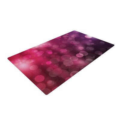 Dark Horse Bokeh Dark Purple Area Rug