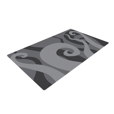 Poor Unfortunate Souls Gray Area Rug Rug Size: 2 x 3