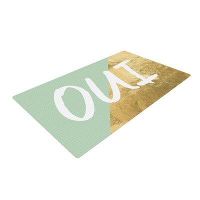 Oui Gold Area Rug