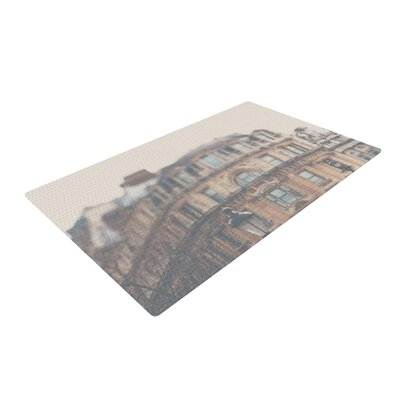 Laura Evans London Town Brown Area Rug Rug Size: 2 x 3