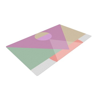 Mareike Boehmer Play 3X Purple/Pink Area Rug Rug Size: 4 x 6