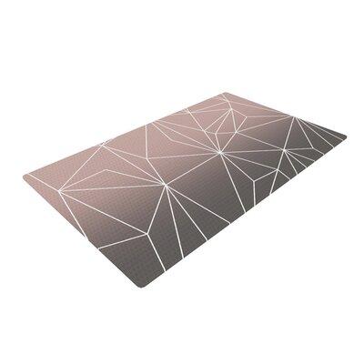 Mareike Boehmer Simplicity 2X Geometric Brown Area Rug Rug Size: 4 x 6