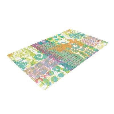 Chickaprint Dazed Splatter Pastel Area Rug Rug Size: 4 x 6