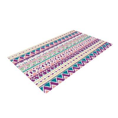 Nika Martinez Boho Ibiza Pastel/Pink Area Rug Rug Size: 2 x 3