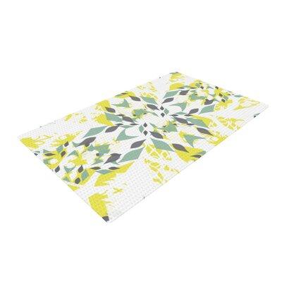 Miranda Mol Springtide Yellow/White Area Rug Rug Size: 2 x 3