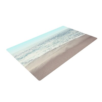 Monika Strigel The Sea Coastal Blue Area Rug Rug Size: 4 x 6