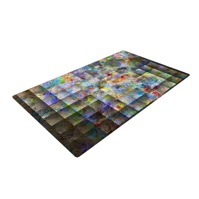 Michael Sussna Yggdrasil Abstract Rainbow Area Rug Rug Size: 2 x 3