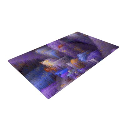 Michael Sussna Mountain Majesty Purple Area Rug Rug Size: 2 x 3