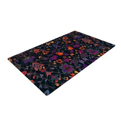 Nikki Strange Bali Tapestry Dark Area Rug Rug Size: 2 x 3