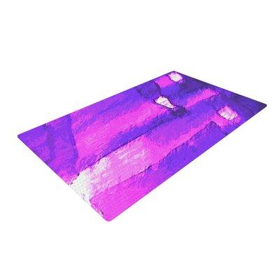 Oriana Cordero Suenos en Purpura Purple/Lavender Area Rug Rug Size: 2 x 3