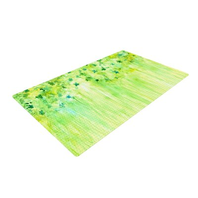Rosie Brown April Showers Lime/Green Area Rug Rug Size: 4 x 6