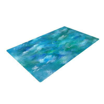 Rosie Brown Ocean Waters Blue Area Rug Rug Size: 2 x 3