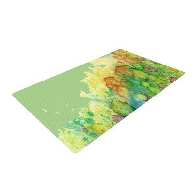 Rosie Brown Sea Life Green/Yellow Area Rug Rug Size: 2 x 3