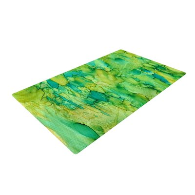 Rosie Brown Going Emerald Area Rug Rug Size: 2 x 3