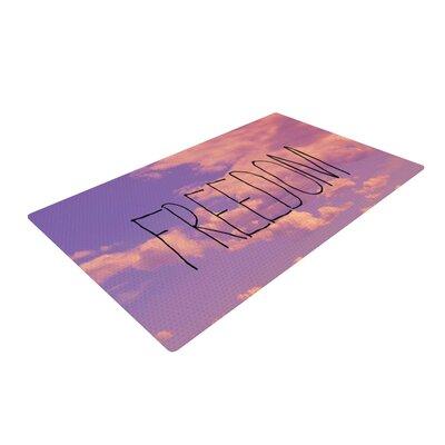 Rachel Burbee Freedom Pink/Purple Area Rug Rug Size: 4' x 6'