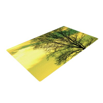 Robin Dickinson Tree Sky Green Area Rug Rug Size: 4 x 6