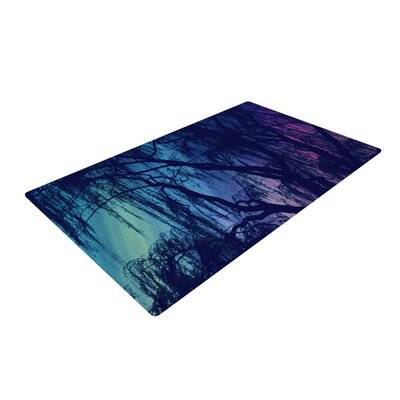 Robin Dickinson Weeping Tree Purple Area Rug Rug Size: 2 x 3