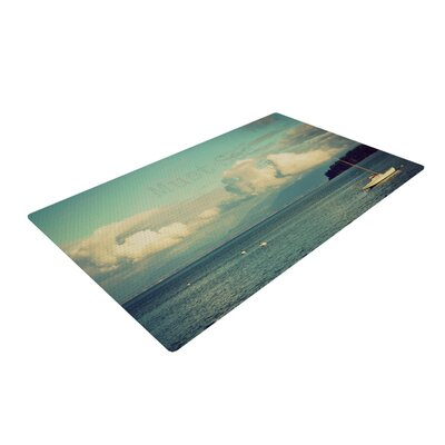 Robin Dickinson Must Sea Ocean Tan Area Rug Rug Size: 2 x 3