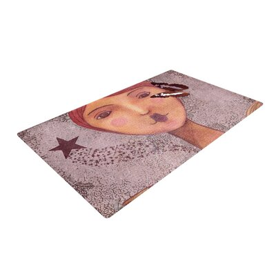 Suzanne Carter Prudence Portrait Pink Area Rug Rug Size: 2 x 3