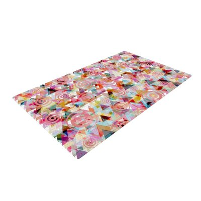 Suzanne Carter Geo Pink Area Rug Rug Size: 2 x 3