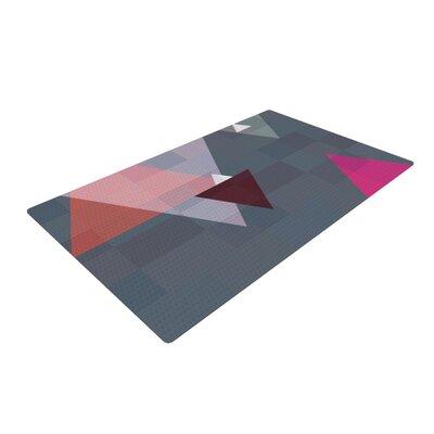Suzanne Carter Geo II Geometric Gray Area Rug Rug Size: 2 x 3