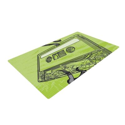 Sam Posnick Mixtape Green Area Rug
