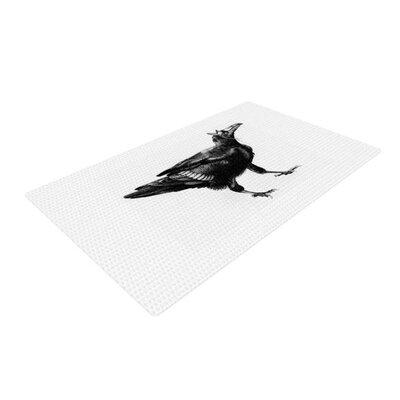 Sophy Tuttle Raven White/Black Area Rug