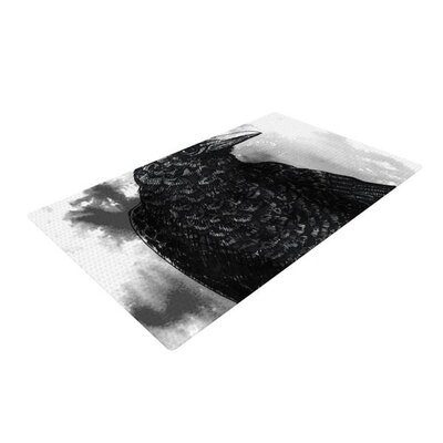 Sophy Tuttle Crow Black/White Area Rug