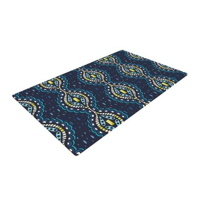 Suzie Tremel Ogee Lace Navy/Blue Area Rug