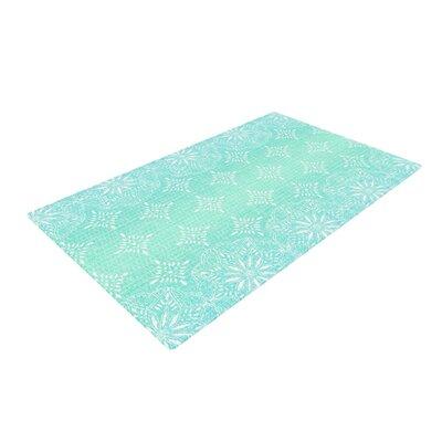 Suzie Tremel Medallion Blue/Green Area Rug Rug Size: 2 x 3