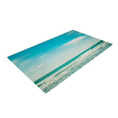 Susannah Tucker The Ocean Green/Blue Area Rug Rug Size: 4 x 6