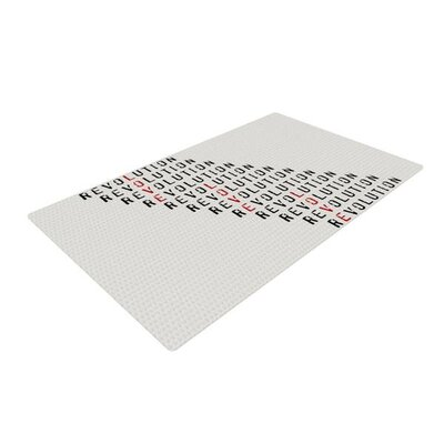 Skye Zambrana Revolution Gray Area Rug