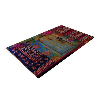 S. Seema Z Ethnic Escape Ped Pink Area Rug