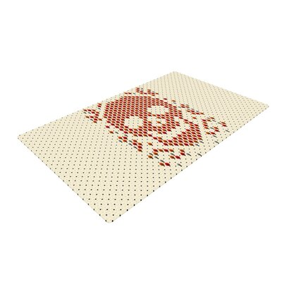 Tobe Fonseca Deforestation Skull Illustration Ivory Area Rug Rug Size: 2 x 3