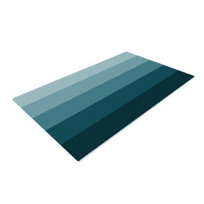 Trebam Cijan Navy/Teal Area Rug Rug Size: 2 x 3