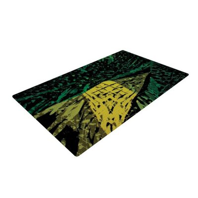 Theresa Giolzetti Family 1 Green Area Rug
