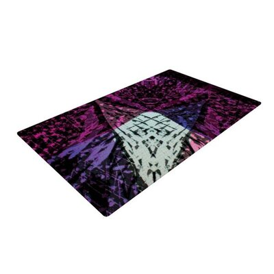 Theresa Giolzetti Family 3 Pink/Purple Area Rug