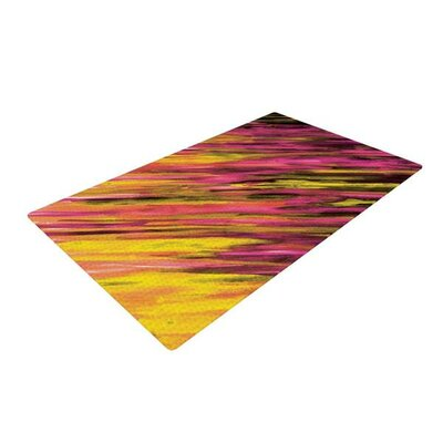 Theresa Giolzetti Orange/Pink Area Rug