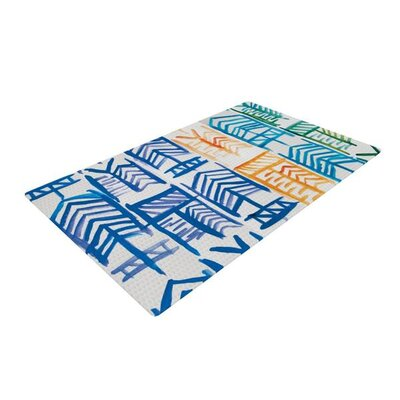 Theresa Giolzetti Quiver II Blue/Green Area Rug