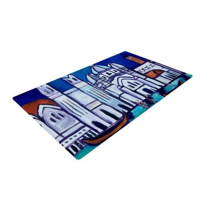 Theresa Giolzetti Venice Blue/Gray Area Rug