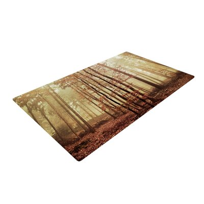 Iris Lehnhardt Autumn Again Brown Area Rug Rug Size: 2 x 3