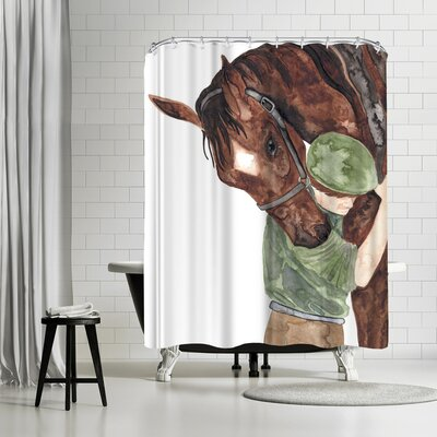 Elena Oneill Mans Best Friend Shower Curtain