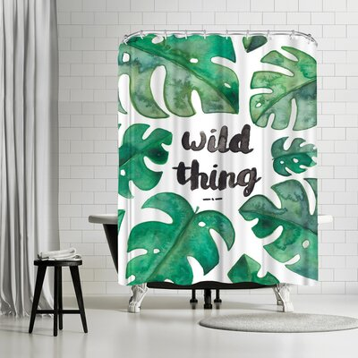 Elena Oneill Tropical Wild Thing Shower Curtain