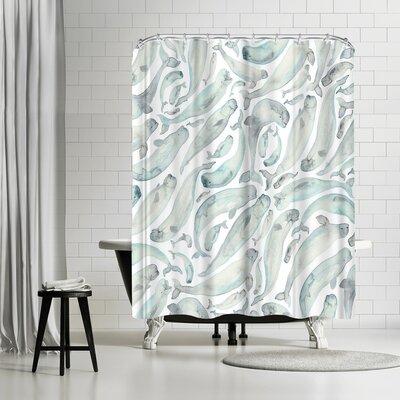 Elena Oneill Belugas Shower Curtain