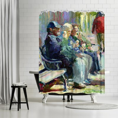 Richard Wallich Icecream Shower Curtain