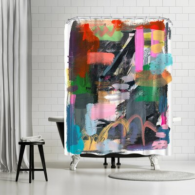Olimpia Piccoli Let Them Be Wild Shower Curtain