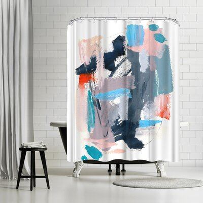 Olimpia Piccoli Rhythms Ii Shower Curtain