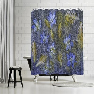Zina Zinchik Winter Song Shower Curtain